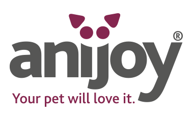 anijoy logo pet toys love